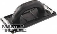 MasterTool  Тёрка пластиковая для абразивной сетки 110*225 мм, толщина 3 мм, Арт.: 08-0115