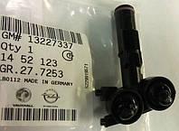 Форсунка (омыватель , разбрызгиватель) передней левой фары (без приводного механизма) GM 1452123 13227337 OPEL Insignia до 2013 года выпуска