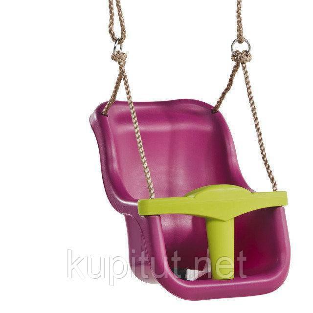 Качели для детей с защитой Kbt Luxe (фиолетовая)
