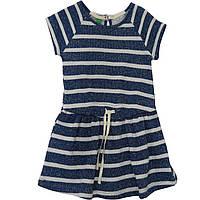 Платье United Colors of Benetton 3R5ZF11HS 82 см Сине-белый (8300896049704)