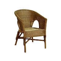 Кресло ЧФЛИ Престиж Ротанг 65х65х87 см Коричневый (k00008)