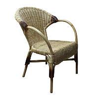 Кресло ЧФЛИ Версаль Ротанг 56х61х83 см Серый (k00007)