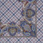 """Платок шерстяной с оверлоком """"Шотландский напев"""", 89x89 см рис.1001-3, фото 2"""