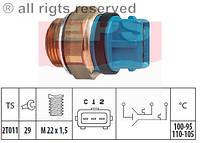 АНАЛОГ для Opel 1341036  GM 90458540 Датчик температуры (термовыключатель) включения выключения вентилятора охлаждения двигателя 3-конт