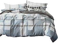 Комплект постельного белья Хлопковый Сатин Двухсторонний NR C1296 Oulaiya 7849