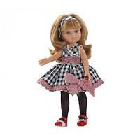 PAOLA REINA кукла Карла в платье в клетку 32 см