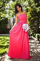 Платье 17/133 Макси. Пышная юбка с карманами