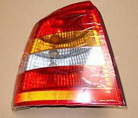 Фонарь задний левый светлый CARELLO (с противотуманной лампой) без платы и лампочек 6223021 9117402 OPEL Astra-G 3/5 door hatch (хечбэк) Примечание: