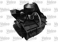 Мотор вентилятора (электродвигатель) отопителя (печки, кондиционера) в сборе с крыльчаткой и корпусом без резистора OPEL Corsa-C Combo Valeo 698 564