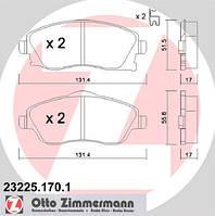 АНАЛОГ для Opel 1605081  GM 93176114 Тормозные колодки передние, комплект 1605964 1605974 1605092 93184269 9200108 93172261 OPEL COMBO, CORSA C,