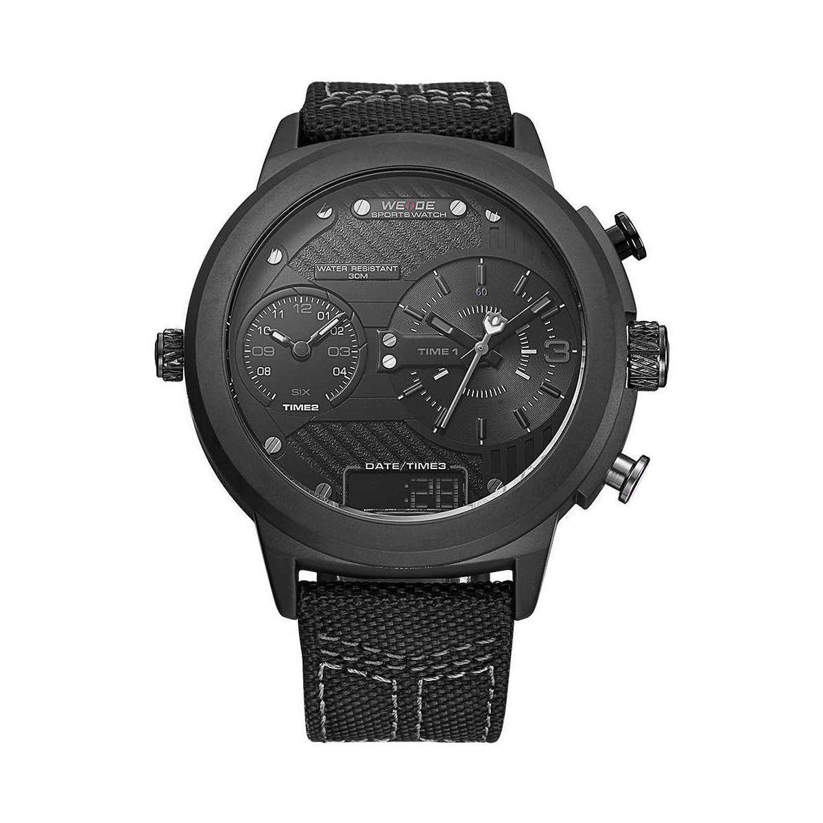 Часы Weide All Black WH6405B-1C (WH6405B-1C)