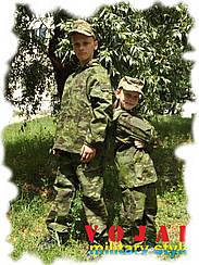 Костюм детский камуфлированный ЛЕСОХОД Multicam TROPIC