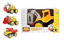 Строительные машины TOI-TOYS 20360 3 вида