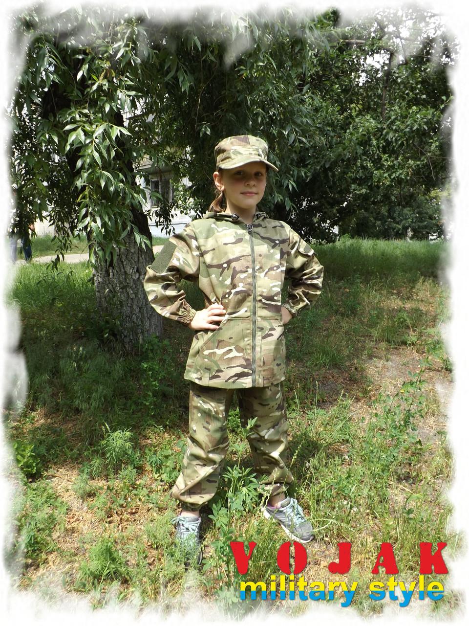 Костюм детский камуфлированный ЛЕСОХОД MTP