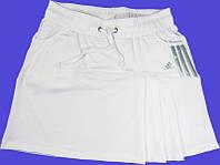 Юбка белая, разные цвета.Юбка -шорты. Юбка с шортами. Юбка для тенниса.  Юбка женская.Мод. 4032. , фото 1