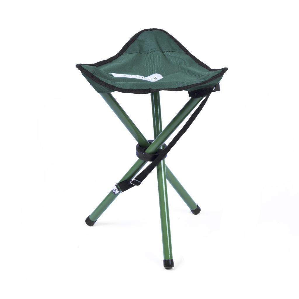 Туристический раскладной стул Spokey Pathook 33x33x46 cм Зеленый (s0257)