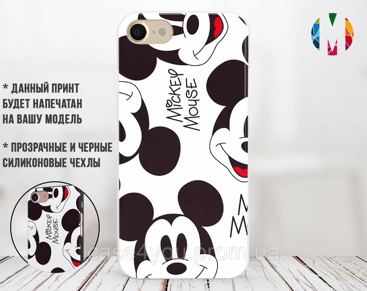 Силиконовый чехол для Apple Iphone 7 plus Микки Маус (4008-3286)