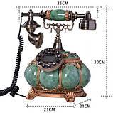 Стационарный деревяный gsm телефон sertec D15, фото 5