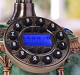 Стационарный деревяный gsm телефон sertec D15, фото 3