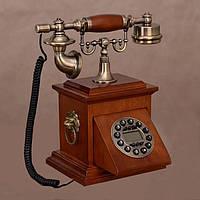 Стационарный деревяный gsm телефон sertec D19, фото 1