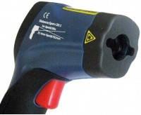 Профессиональный пирометр (инфракрасный термометр) с двойной лазерной указкой