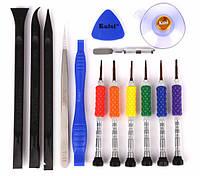 Набoр инструментов Kaisi K-T3601 для iPhone (6 отверток, 5 лопаток, пинцет, присоска, медиатор), Набoр інструментів Kaisi K-T3601 для iPhone (6