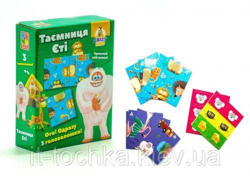 Детская игра головоломка vladi toys vt8055-12 crazy koko Тайна Йети