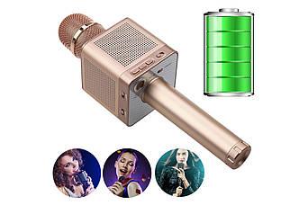 🔊Караоке микрофон MicGeek Q10s Оригинал Розовое золото