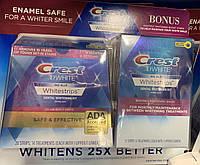 Glamorous White Отбеливающие полоски Crest 3D White 40 полосок!!!! Оригинал США