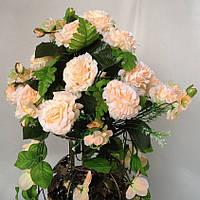 Роза подвеска в вазу  и на стену 80 см
