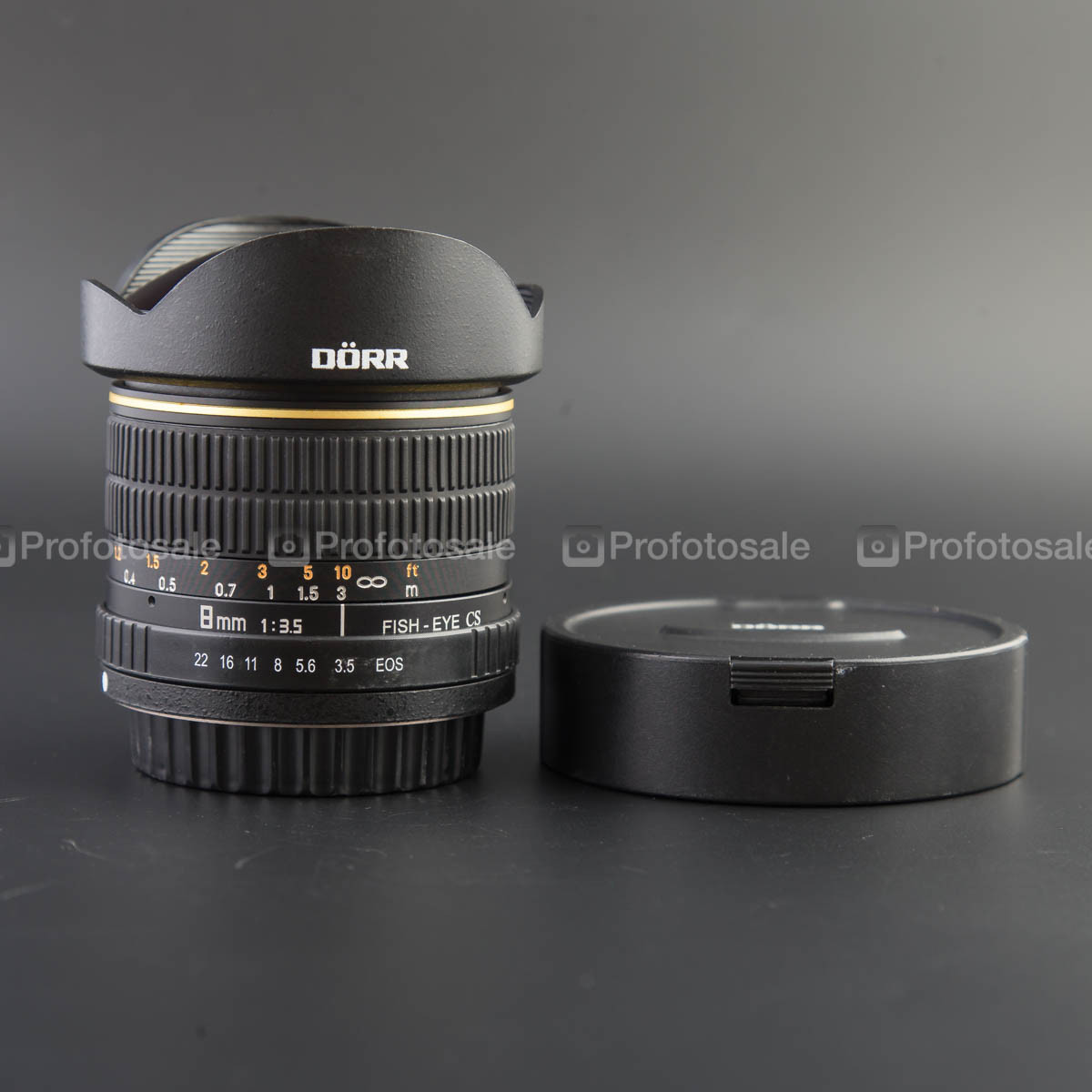 Samyang 8mm f/3.5 Aspherical IF MC Fish-eye (DORR) для Canon