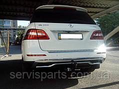 Фаркоп Mercedes ML166 2012- (Мерседес МЛ)