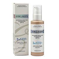 Тональный крем Collagen Enough 3 в 1, 100 мл