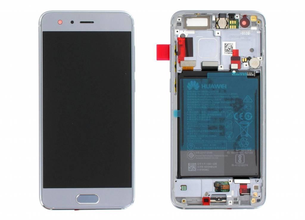 Дисплей модуль Huawei Honor 9 в зборі з тачскріном, білий