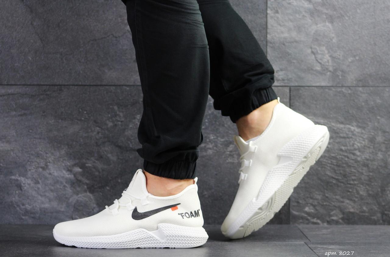 Мужские кроссовки летние Wonex,сетка,белые