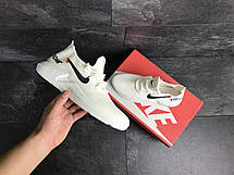 Мужские кроссовки летние Wonex,сетка,белые, фото 3