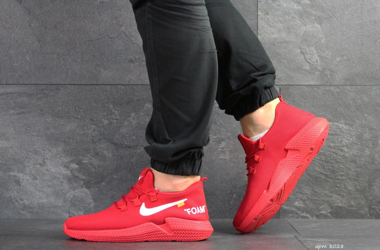 Мужские кроссовки летние Wonex,сетка,красные 45р