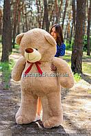 Большой плюшевый мишка, медведь Ветли 180см мокко, фото 1