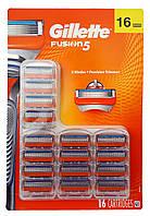 Gillette Fusion 5 сменные кассеты (16 шт) USA