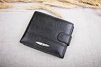 Мужское кожаное портмоне Tailian черный 120-12, фото 1