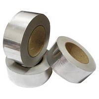 Скотч металлизированный (лента клейкая алюминиевая) 50мм  * 50м