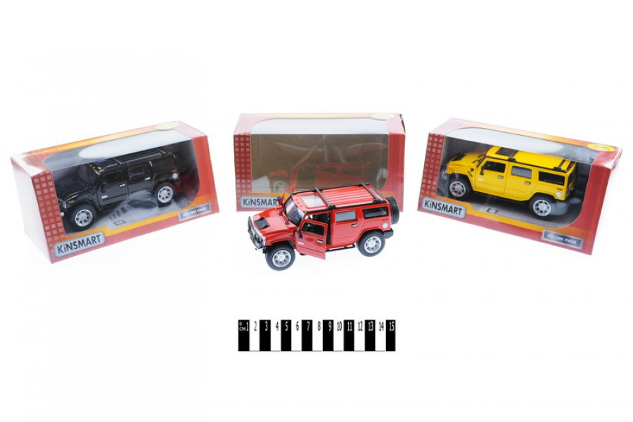 Машинка металлическая Хаммер Kinsmart KT 7006 W, Кинсмарт, Кінсмарт машинка