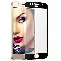 Защитное стекло для Motorola XT1794 G5S (5D Full glue) цвет черный