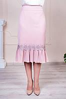 Юбка Клара розового цвета (0606/31), фото 1