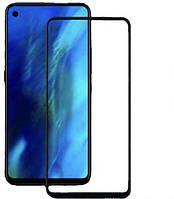 Защитное стекло для Huawei Nova 4 full glue (0.3 мм, с олеофобным покрытием) цвет черный