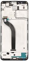 Дисплей (экран) для Xiaomi Redmi 5 + тачскрин, черный, с передней панелью