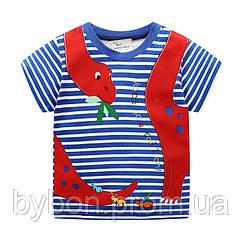 Детская футболка Мои любимые динозавры