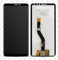 Дисплей (экран) для Meizu M8 Note (M822) + тачскрин, черный