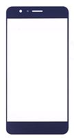Стекло (для ремонта дисплея) Huawei Honor 8 (FRD-L09/FRD-L19), синее, оригинал