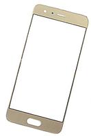 Стекло (для ремонта дисплея) Huawei Honor 9 (STF-L09/STF-L19), золотистое